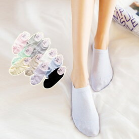 靴下 レディース スニーカーソックス ショートソックス JK 女子高生 脱げにくい