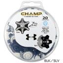 CHAMP チャンプアンダーアーマーゴルフ用品 ゴルフ ラウンド用品ゴルフシューズ ソフトスパイク鋲S-LOK スリムロック …