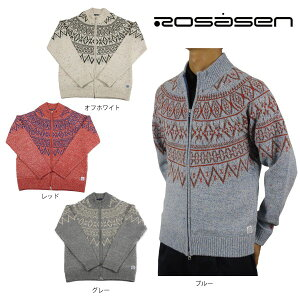 【70%OFF】ロサーセン メンズ ニット ブルゾン ROSASEN 044-16110 大きいサイズ