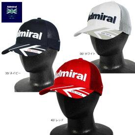 【2020春夏】アドミラル キャップ クウォーターユニオンジャック キャップ 帽子フリーサイズ ユニセックス ADMB010F プレゼント ゴルフアクセサリー Admiral GOLF