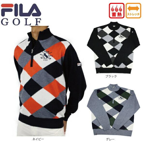 【40%OFF】フィラゴルフ FILA GOLF メンズ セーター ストレッチ 788710 蓄熱【ラッキーシール対応】
