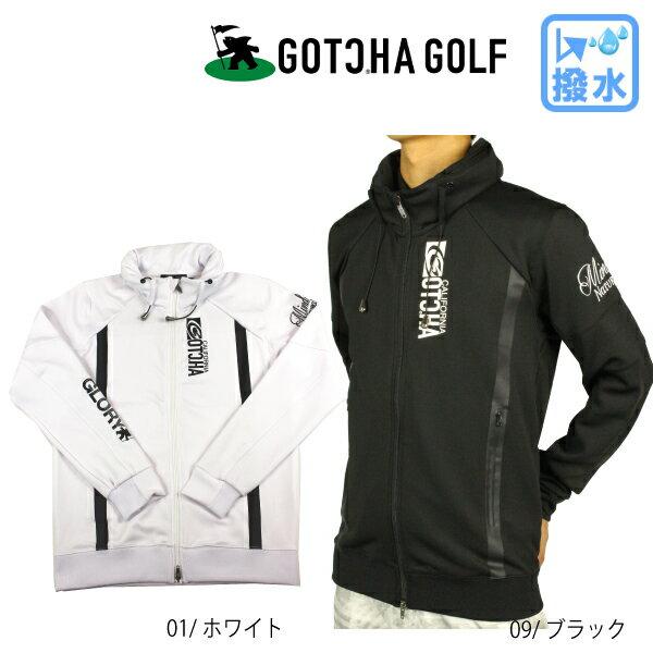 【20%OFF】GOTCHA GOLF ガッチャゴルフ 183GG1300 撥水ボリュームスタンドジャケット アウター ジャケット メンズゴルフウェア 中綿 大きいサイズ 撥水