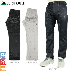 【50 %OFF】ガッチャゴルフ GOTCHA GOLF 183GG1808 撥水ボンディングフリースパンツ ガッチャ ゴルフ ロングパンツ ゴルフウェア 大きいサイズ【ラッキーシール対応】
