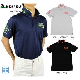 【30%OFF】【2019春夏】GOTCHA GOLF ガッチャゴルフ 192GG1208 ポロシャツ トップス 吸水速乾【ラッキーシール対応】