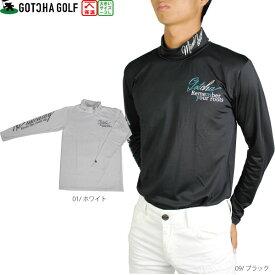 【30%OFF】GOTCHA GOLF ガッチャゴルフ 193GG1101 裏アルミタートルアンダーシャツ メンズ gotcha golf 熱反射保温 大きいサイズ