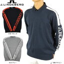 【30%OFF】J.LINDEBERG 071-17211 メンズニット クールセーター 大きいサイズ ジェイリンドバーグ ゴルフウェア メンズ トップス ニット コットン