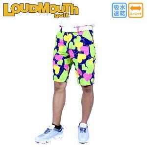 【30%OFF】ラウドマウス メンズ ショートパンツ 大きさサイズ ボックスオブチョコレート 768-302-125 BoxofChocolate ゴルフウェア メンズショートパンツ ゴルフパンツ LOUD MOUTH