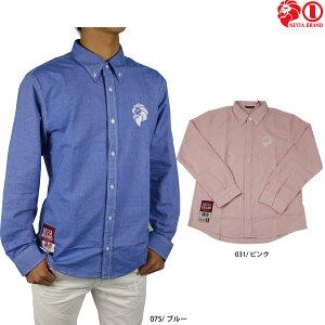 【50%OFF】ネスタブランド メンズ 長袖 シャツ 大きいサイズ 191NB1501 オックス ボタンダウン シャツ メンズNESTA BRAND
