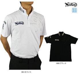 【30%OFF】ノートン メンズ 半袖 ポロシャツ 大きいサイズ192N1203 ユニオンジャック 切り替え ポロシャツ メンズ トップス ゴルフ ゴルフウエア 吸水速乾 Norton