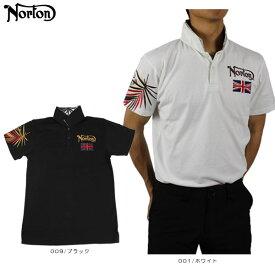 【30%OFF】ノートン メンズ 半袖 ポロシャツ 大きいサイズ 192N1204 アームインパクトリゾートポロ ゴルフウエア ゴルフ Norton
