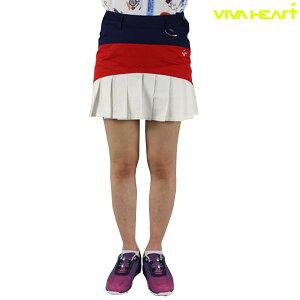 【50%OFF】ビバハート 012-79441 ビバハート レディース 裾プリーツスカート スカート ゴルフウェア レディスゴルフウェア VIVA HEART