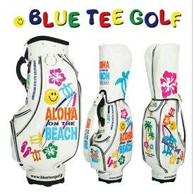BLUE TEE GOLF ALOHA ON THE BEACH ブルーティーゴルフ アロハ・オン・ザ・ビーチ カートキャディバッグ ゴルフ かわいい おしゃれ