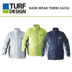 TURF DESIGN ターフデザイン レインウェア ジャケット TDRW-1674J