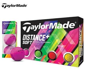 テーラーメイド2019DISTANCE+SoftディスタンスプラスソフトゴルフボールJP