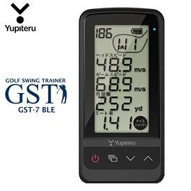 ユピテル ゴルフ ゴルフスイングトレーナー GST-7 BLE Bluetooth スマホ連動 スピード測定 ミート率 アプローチ練習 Yupiteru