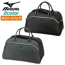 ミズノ ボストンバッグ ゴルフ Jacquard ボストンバッグ 環境配慮型商品 ミズノグリーングレード ブロンズメダル 合成繊維 25L 全2色 MIZUNO 5LJB200200