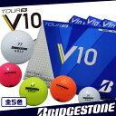 【全5色】 ブリヂストン TOUR B V10 ゴルフ ボール オールラウンドモデル ウレタンカバー 3ピース BRIDGESTONE カラー