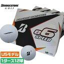 【USモデル】 ブリヂストン e6 SPEED 3ピース ゴルフボール 高初速で飛距離アップ!さらにスピンを減らして方向性が安定! 1ダース 12球入り ゴルフ...