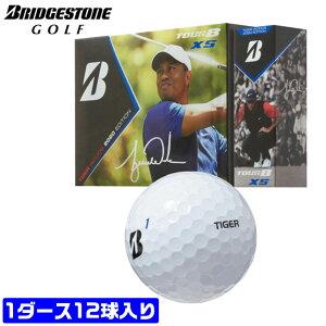 ブリヂストン ゴルフ ボール TOUR B XS タイガー ウッズ TIGER WOODS 2020 EDITION スピードコントロールテクノロジー ウレタンカバー 3ピース 330デュアルディンプル BRIDGESTONE 【MS】