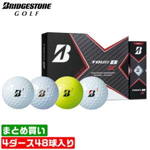【まとめ買いがお得!4ダースセット】ブリヂストン ゴルフ ボール TOUR B X スピードコントロールテクノロジー 低スピン ウレタンカバー 3ピース 330デュアルディンプル BRIDGESTONE 【MS】