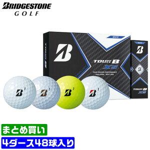 【まとめ買いがお得!4ダースセット】ブリヂストン ゴルフ ボール TOUR B XS スピードコントロールテクノロジー スピン ウレタンカバー 3ピース 330デュアルディンプル BRIDGESTONE 【MS】
