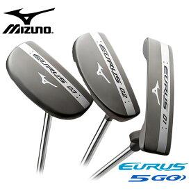 MIZUNO EURUS 5GO PUTTER パッティングスタイルで選べる3モデル 01 02 03 スチール シャフト ミズノ ユーラス ゴーゴー パター outlet