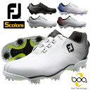 フットジョイ Footjoy ゴルフ シューズ DNA Boa 軽量 防水 人工皮革 ダイヤル 53331 53330 53332 53333 53336 全5色