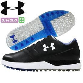 アンダーアーマー UNDER ARMOUR ゴルフ ゴルフシューズ スパイクレス PERFORMANCE SL X-WIDE 人工皮革 BLACK/BLACK/ST TROPEZ 1299218 outlet