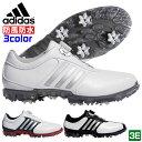 アディダス adidas ゴルフシューズ メンズ ピュアメタルボア プラス pure metal Boa plus 防風 防水 透湿性 軽量 Q4489