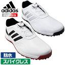 アディダス ゴルフ シューズ CPトラクション SL BOA メンズ スパイクレス ボア 人工皮革アッパー 防水 adidas EH1783 …