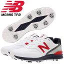ニューバランス ゴルフシューズ メンズ ソフトスパイク MG996 TR2 REVLITE CR FULL GROUND CONTACT 防水 SL-1 996 NEW…