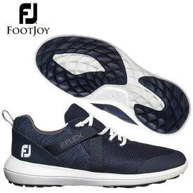 フットジョイ ゴルフシューズ メンズ スパイクレス FJフレックス 軽量 通気性 クッション性 疲れにくい EVAミッドソール footjoy 56102W