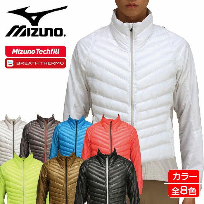 【お一人様一点限り】ミズノ ムーブウォーマー 長袖 選べる8色 ブレスサーモで温かい!さらに新素材テックフィルで、なんと家庭でも洗濯が可能! 動きやすさを実現した伸縮素材使用タイプ Mizuno ゴルフ 52ME6503