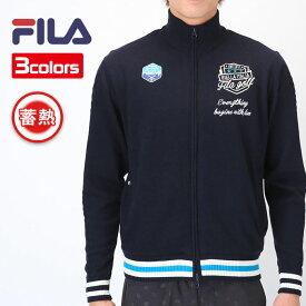 フィラ ゴルフ ゴルフ 長袖 ジップアップセーター 蓄熱素材で薄手でもあたたかい FILA GOLF 787704