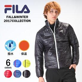 フィラ ゴルフ メンズ 長袖 ブルゾン 中綿 撥水コーティングで雨の日も使える 保温 FILA 787272 防寒