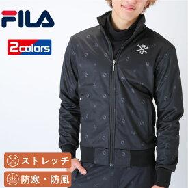 フィラ ゴルフ メンズ 長袖 ボンディングジャケット シンプル 着こなしやすい 機能性ジャケット ストレッチ 防寒 防風 FILA 787270