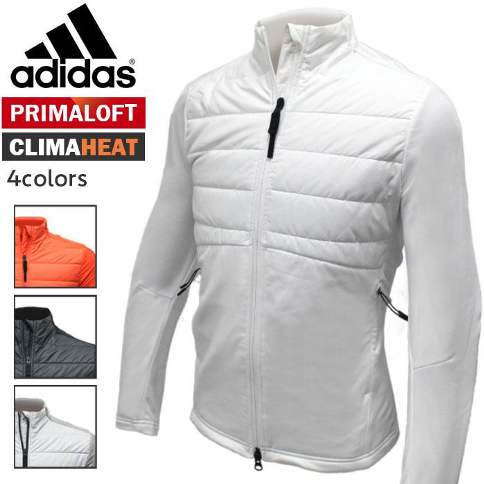 アディダス LNW08 CS CP CLIMAHEAT ハイブリッドジャケット 薄くて軽いのに温かい プリマロフト クライマヒート メンズ adidas