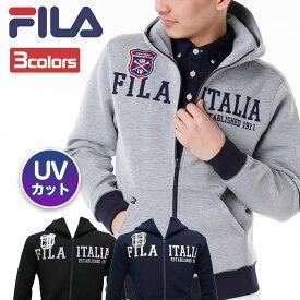 フィラ FILA ゴルフ メンズ フード付き フルジップ パーカー UVカット 全3色 788-401G outlet