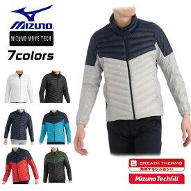 ミズノ MIZUNO ゴルフ アウター 中綿 ブレスサーモ 保温 テックフィル 動きやすい ストレッチ 全7色 52ME9502