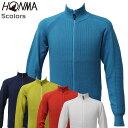 ホンマ ゴルフ メンズ フルジップ セーター TOWN&TURF 本間 931-733404 HONMA