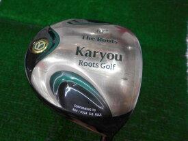 中古 Cランク (フレックスR) ゴーセン(ルーツゴルフ) The ROOTS Karyou HT Karyou オリジナルカーボン(ドライバー) R 男性用 右利き ドライバー DR