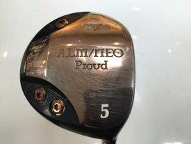 中古 Dランク (フレックスR) HEXUS(シダーズゴルフ) ALM/NEO Proud  5W オリジナルカーボン R1 男性用 右利き フェアウェイウッド FW