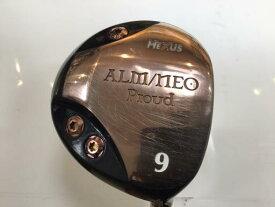 中古 Cランク (フレックスR) HEXUS(シダーズゴルフ) ALM/NEO Proud  9W オリジナルカーボン R1 男性用 右利き フェアウェイウッド FW