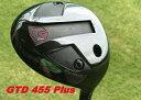 【送料無料】GTD 455PLUS 455プラスドライバーカスタム 45.75 ツアーAD VRシリーズ