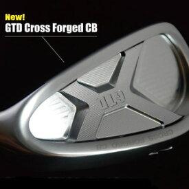 【送料無料】GTD CROSS FORGED CB IRON クロスフォージド CB アイアン 6本(5-10)セット NS MODUS3 TOUR 105