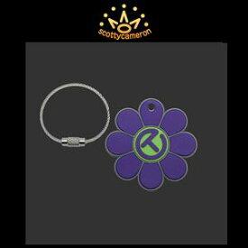 【激レア】SCOTTY CAMERON Key Fob-Flower Circle T-Purple/Lime スコッティキャメロン キーホルダー フラワーサークルT-パープル/ライム『ワイヤーチェーン付き』