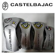 【新発売】CastelBajacカステルバジャック流れ星柄ヘッドカバー4点セット『シルバー』DR(23801-306)x1本,FW(23801-307)x2本,UT(23801-308)x1本