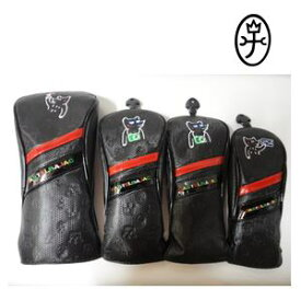 CastelBajac カステルバジャック ヘッドカバー4点セット『ブラック』 DR(23001-306)x1本,FW(23001-307)x2本,UT(23001-308)x1本