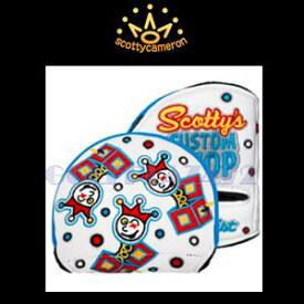 Scotty Cameron【Left Hand】Head Cover-Jackpot Johnny -White スコッティキャメロン カスタムショップ レフティヘッドカバー ミッドラウンド ジャックポットジョニー『ホワイト』
