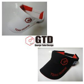 GTD【George Takei Design】VISOR ジーティーディ 限定 バイザー【スナップバックタイプ】